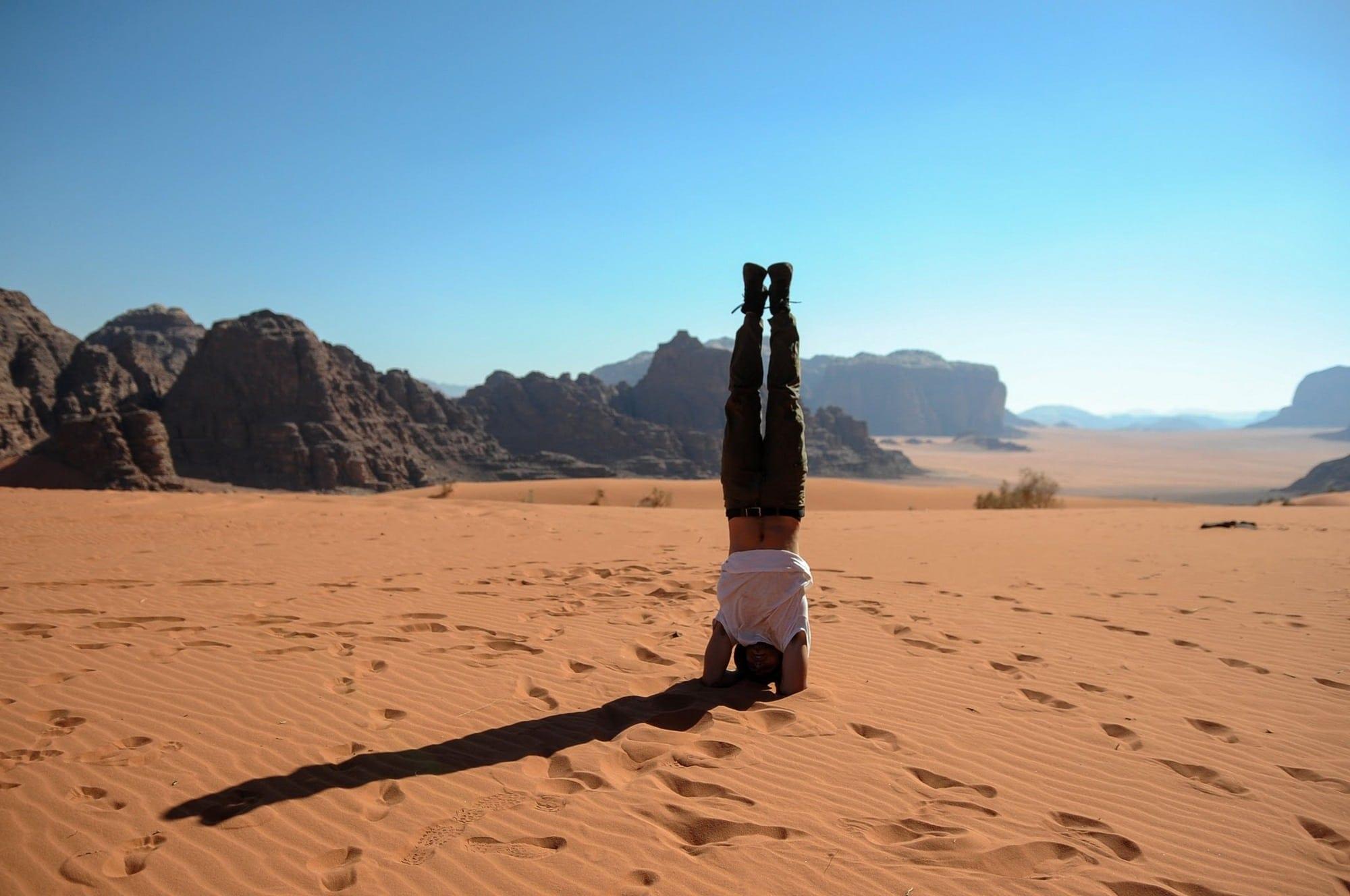 Wadi Rum - ואדי ראם ירדן - ערוצים בטבע