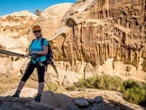 טיול סנפלינג בקניוני ראג'ף - ירדן עם ערוצים בטבע