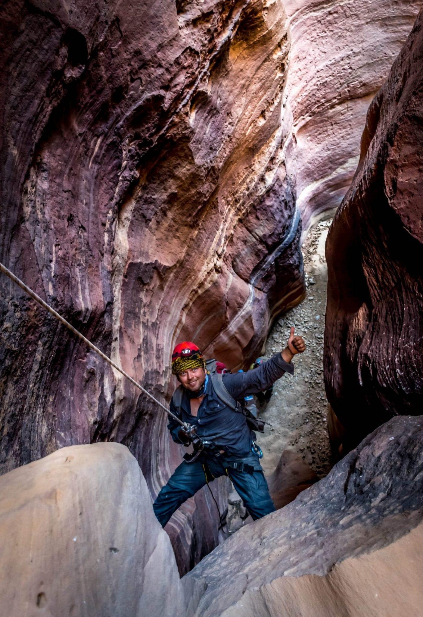 סנפלינג בקניוני ירדן - לאוהבי לכת ואתגר - ערוצים בטבע