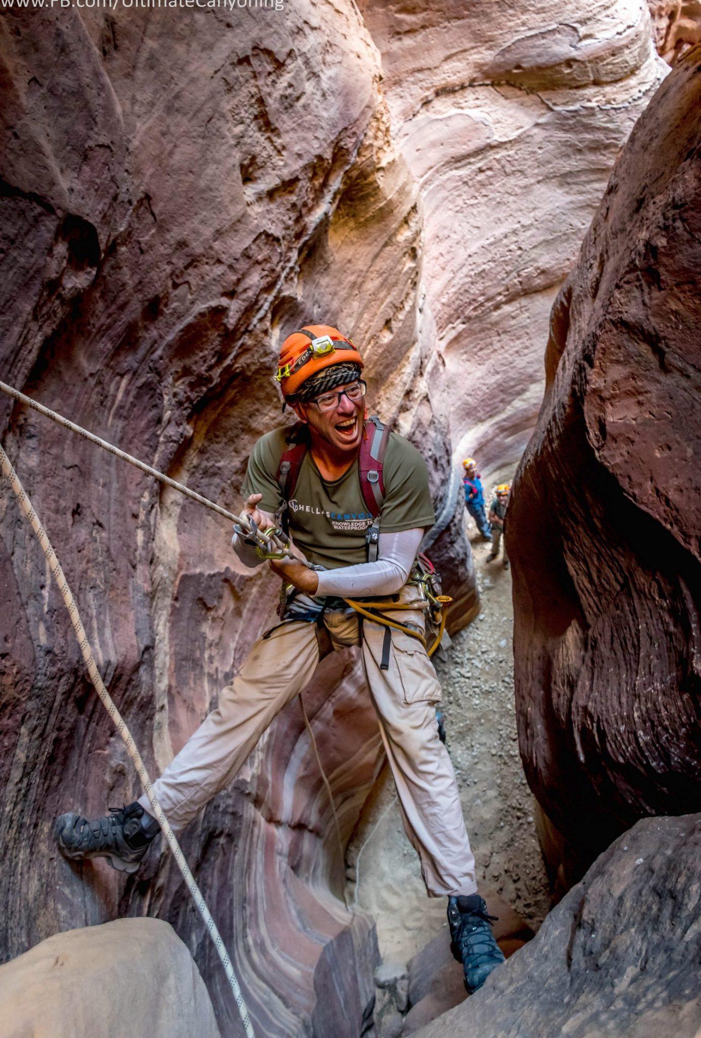 טיול סנפלינג בירדן - לאוהבי לכת ואתגר - ערוצים בטבע