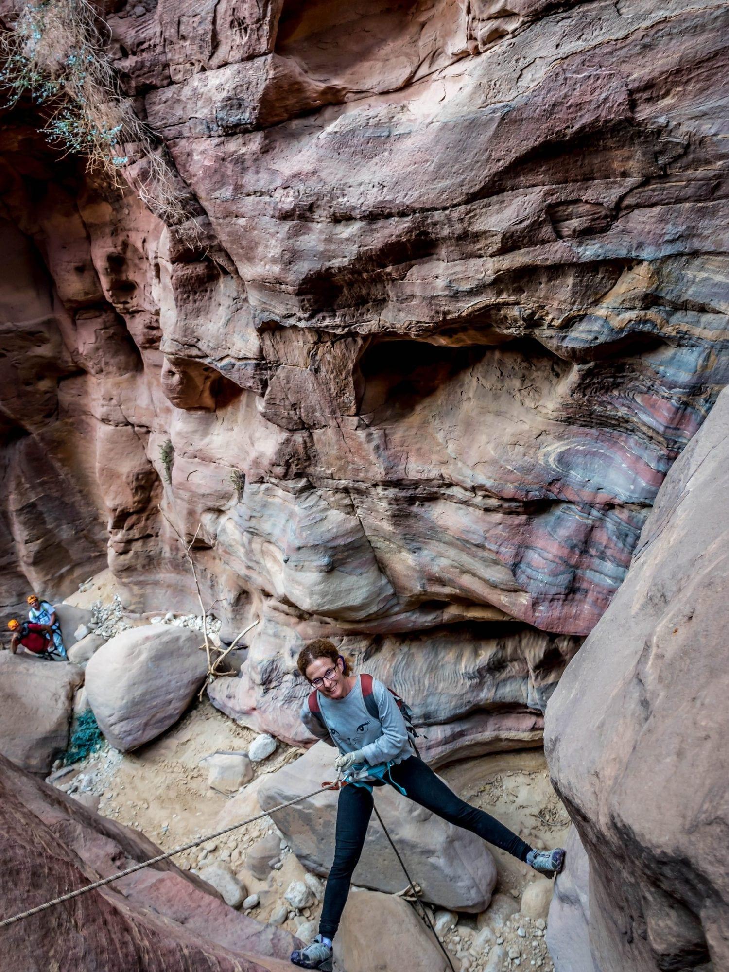 טיול סנפלינג בירדן - קניוני ראג'ף - ערוצים בטבע