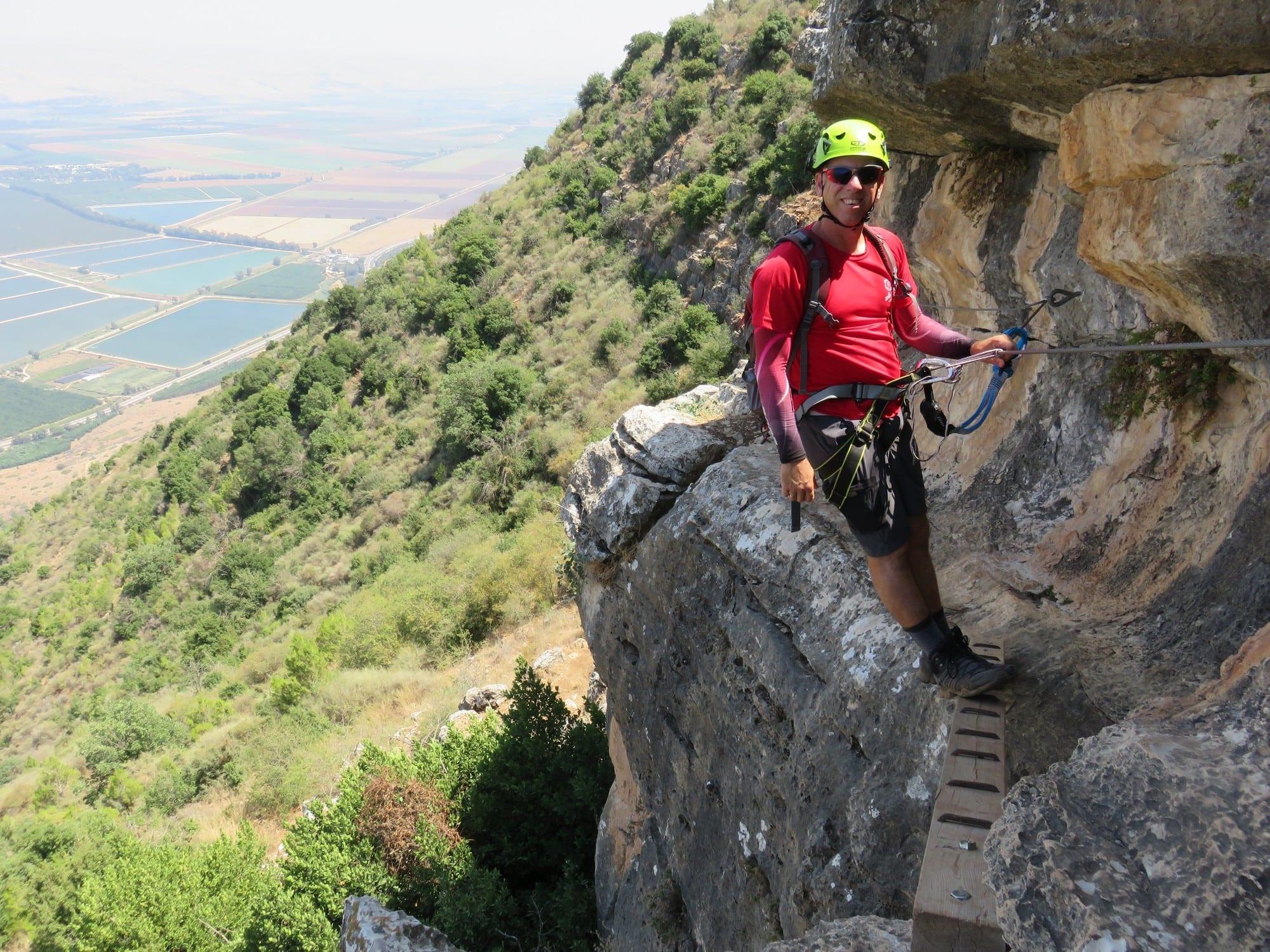 ויה פראטה ישראל - מסלול אתגרי - ערוצים בטבע