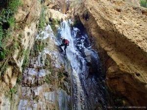 טיול סנפלינג ירדן - קניוני כרך - ערוצים בטבע