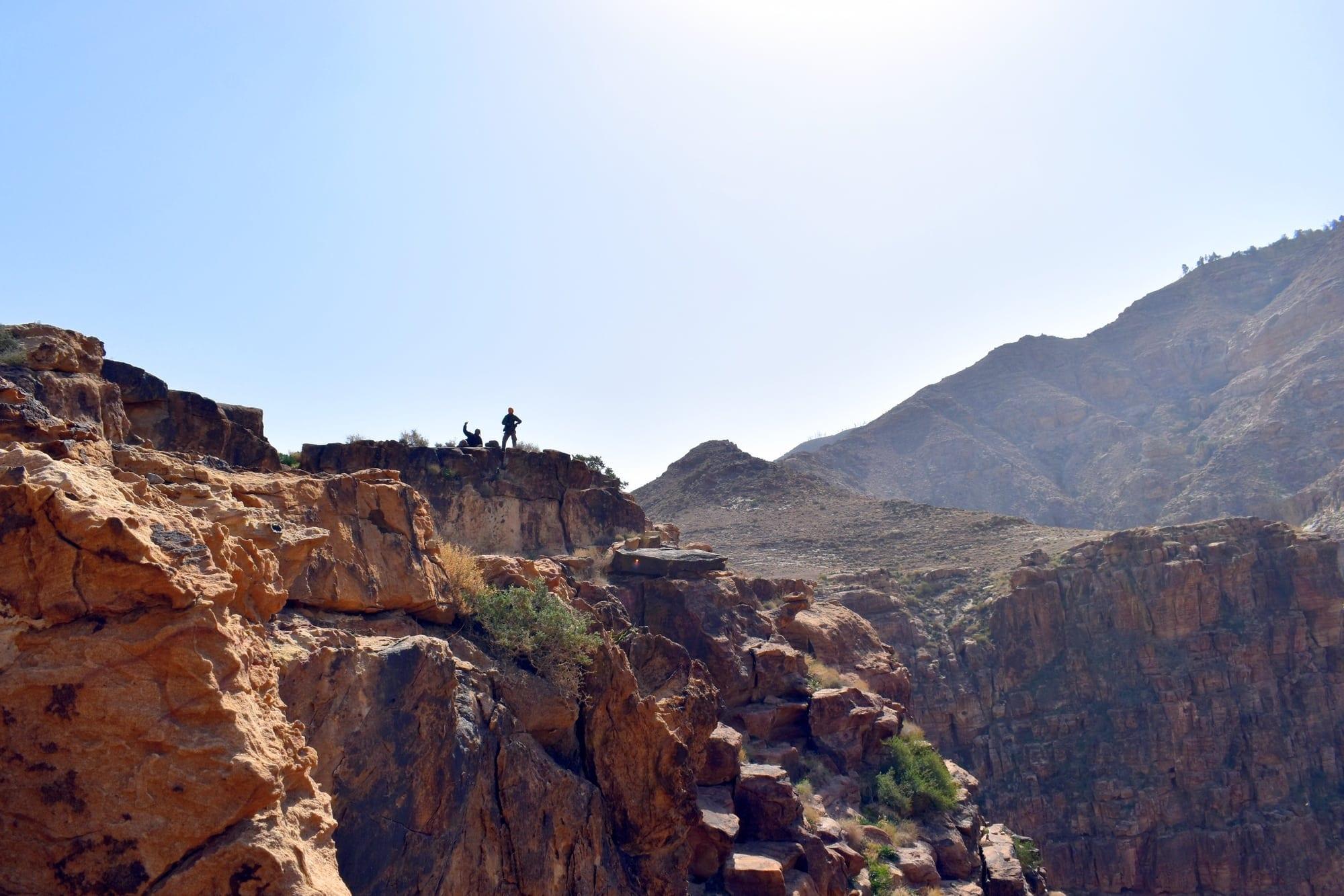 ואדי Ramzi - ירדן - ערוצים בטבע