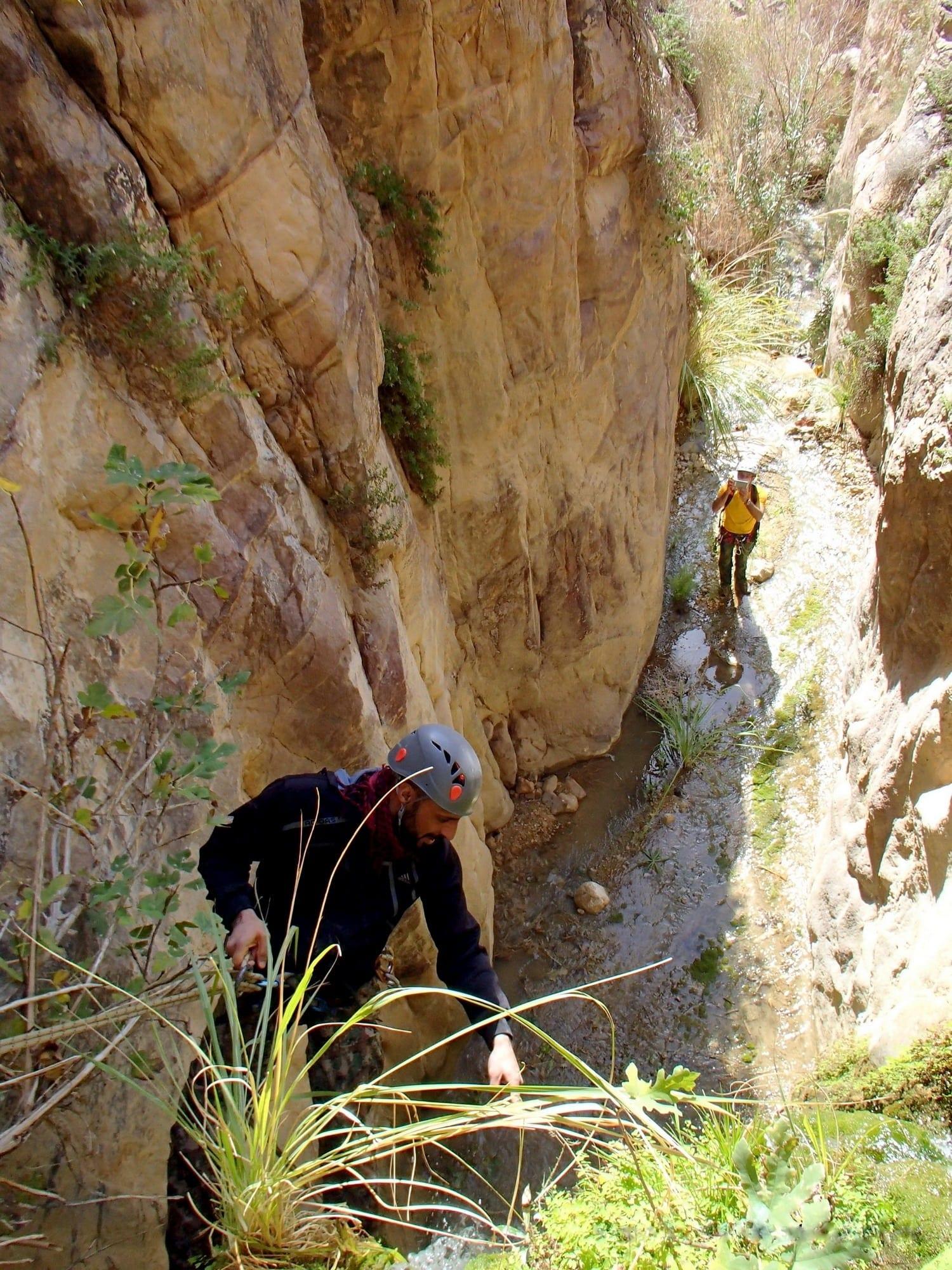 ואדי RAMZI קניוני כרך ירדן - ערוצים בטבע