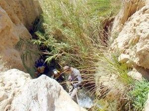 ואדי רמזי קניוני כרך ירדן - ערוצים בטבע