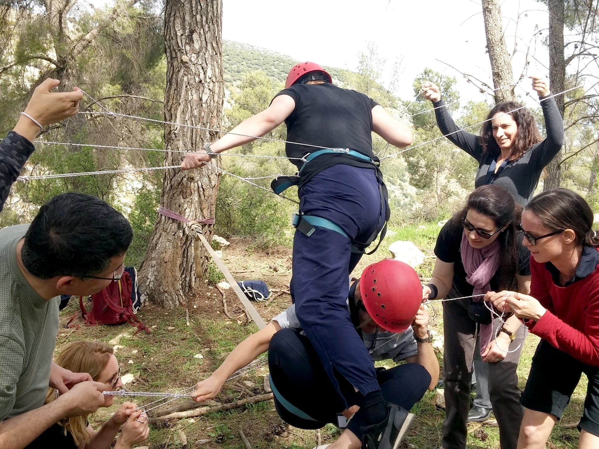 outdoor training - סדנת מנהלים - ערוצים בטבע