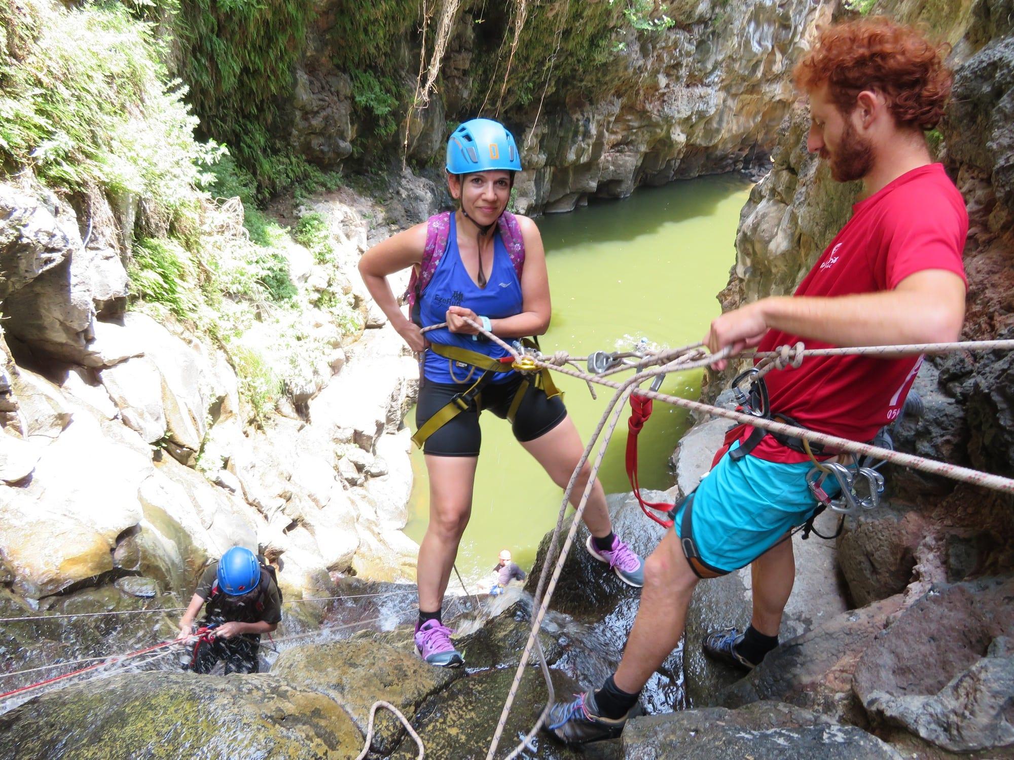 Black Gorge Rappelling trip – Arutzim Bateve