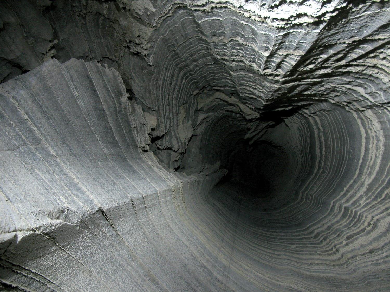 Rappelling  Salt Cave Mount Sodom - Banketgarim