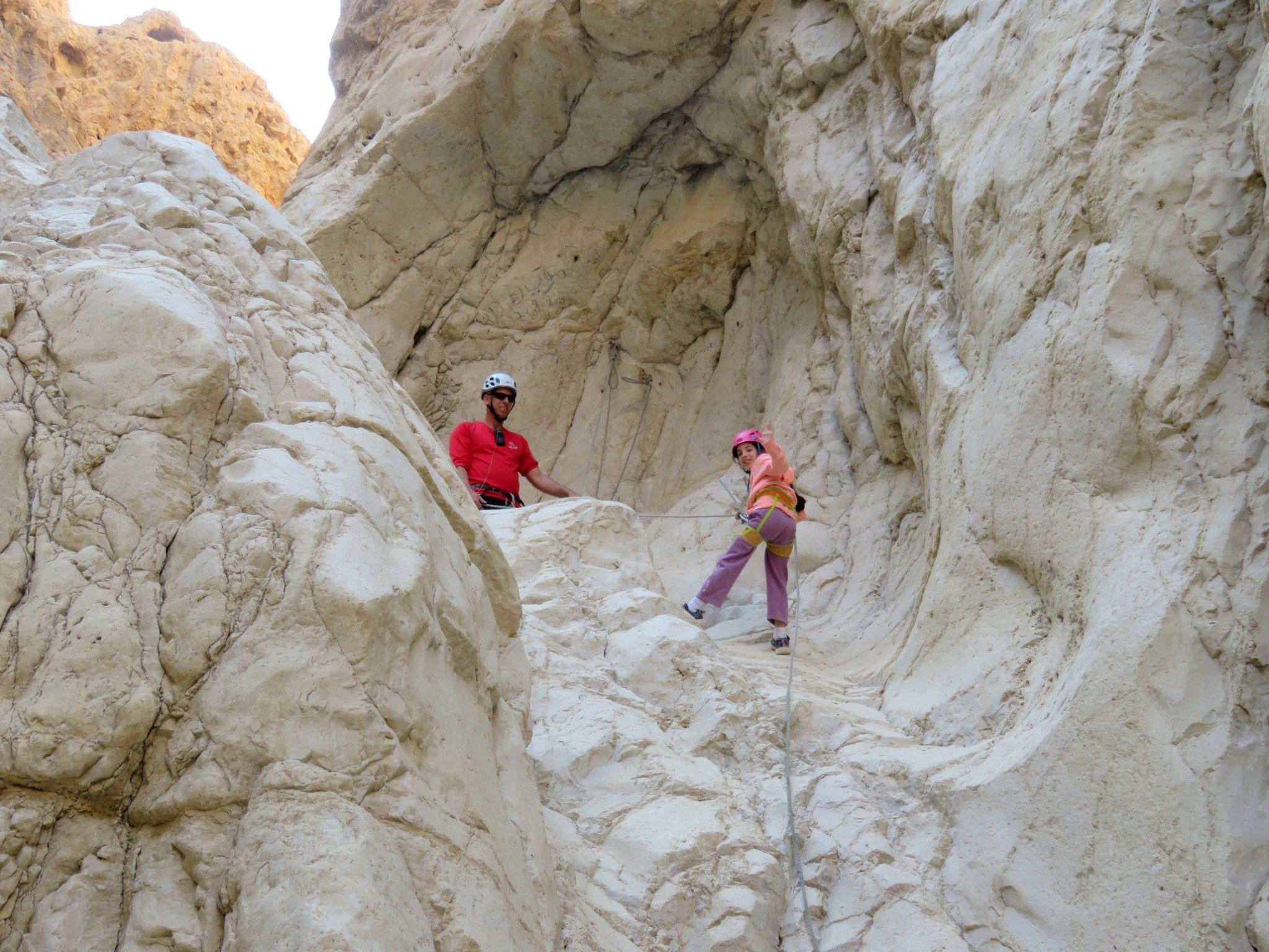 סנפלינג רחף עליון מפל ראשון - ערוצים בטבע