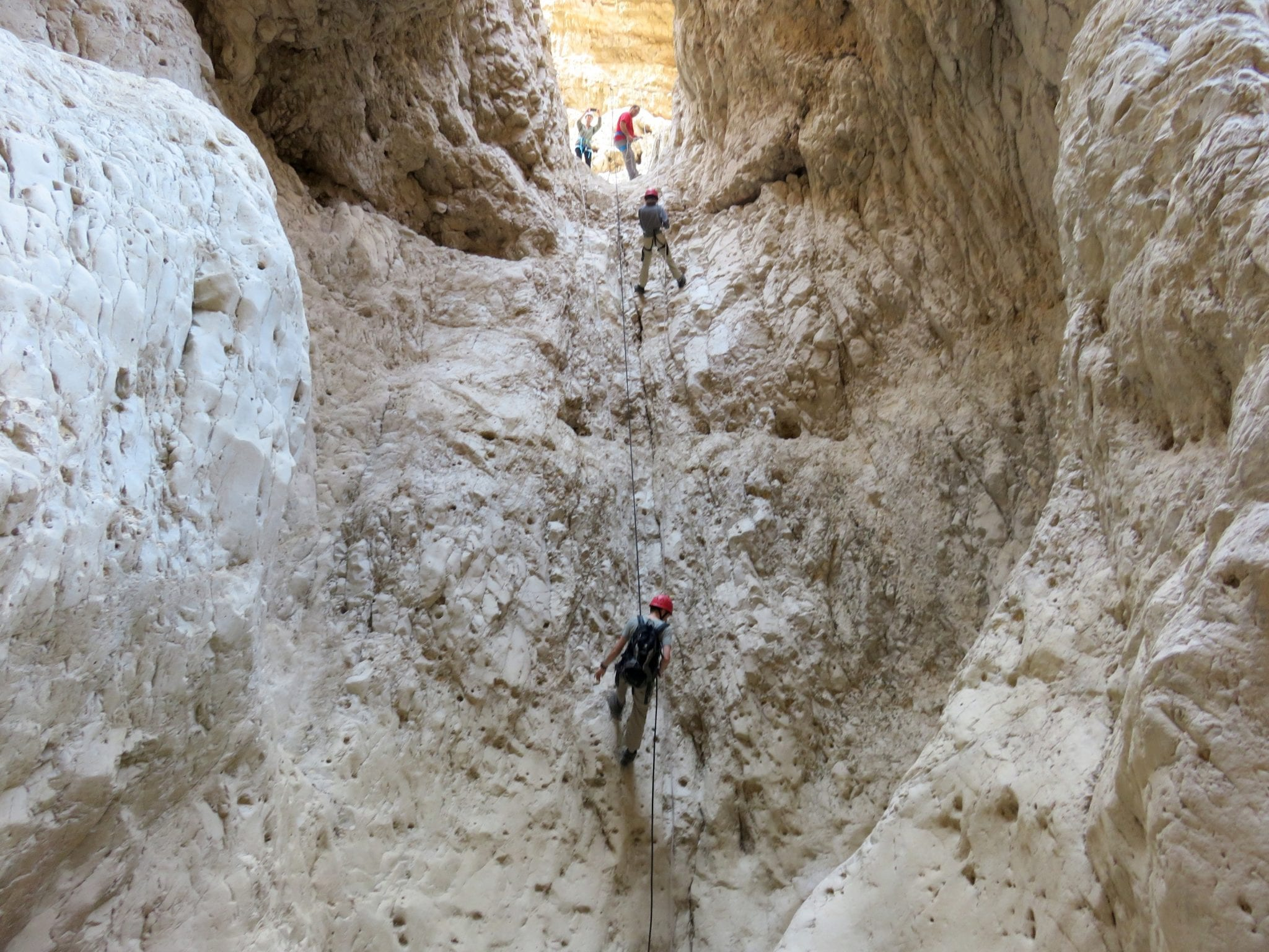 סנפלינג רחף תחתון מפל 20 מטרים - ערוצים בטבע