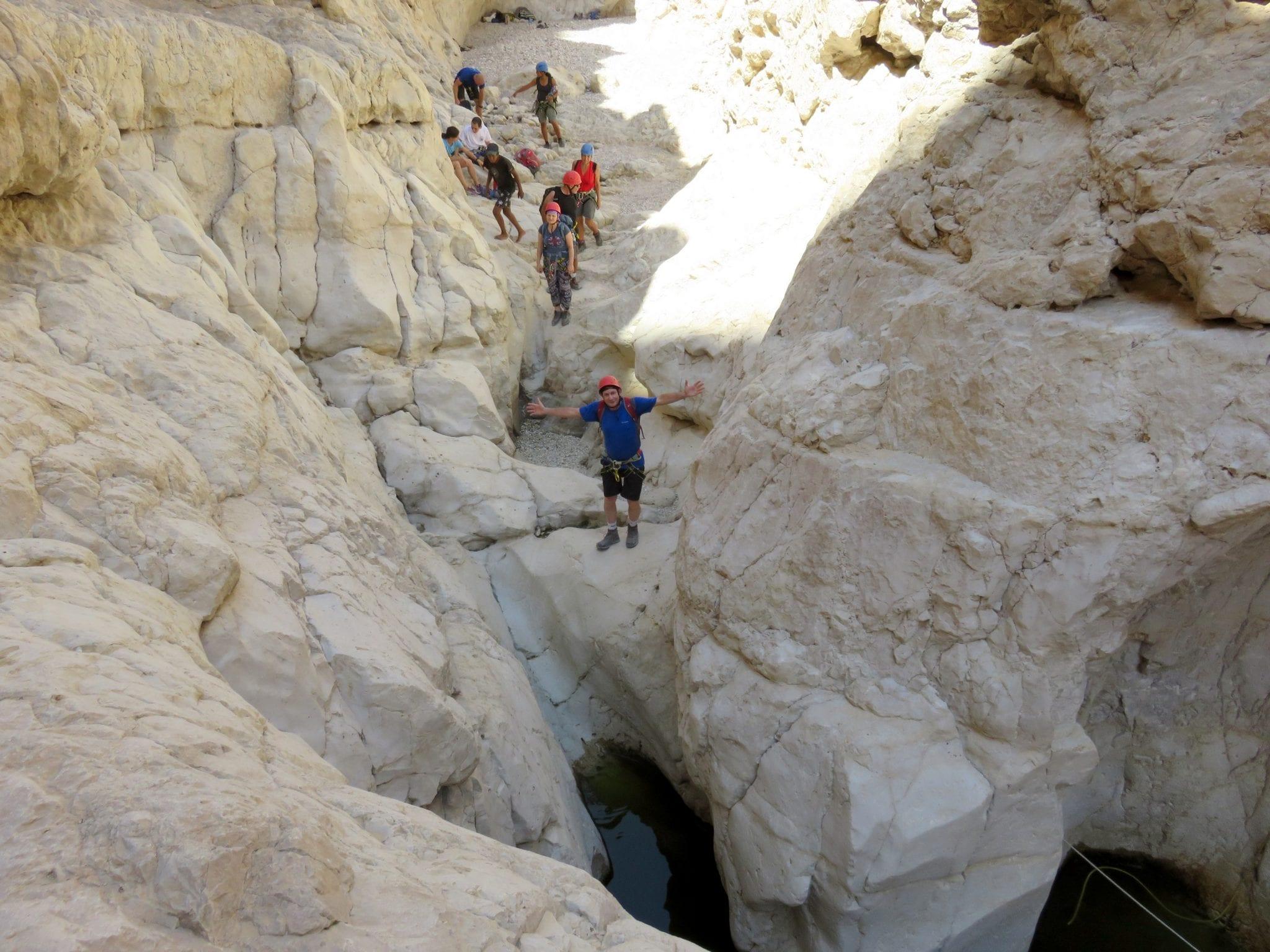 מסלול רחף עליון היפה בקניוני מדבר יהודה - ערוצים בטבע