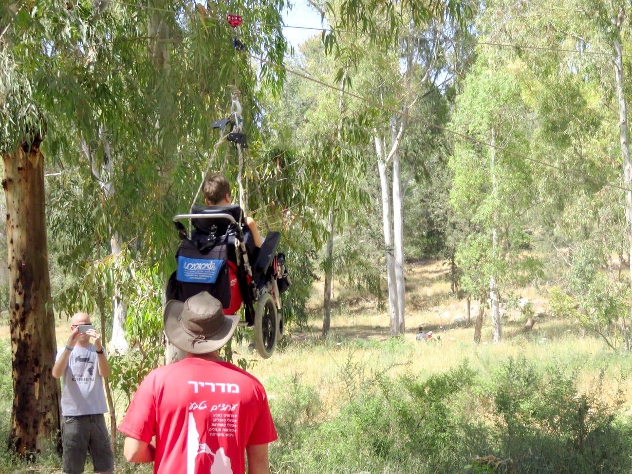 אתגר ילדים מיוחדים - תרומה לקהילה - ערוצים בטבע