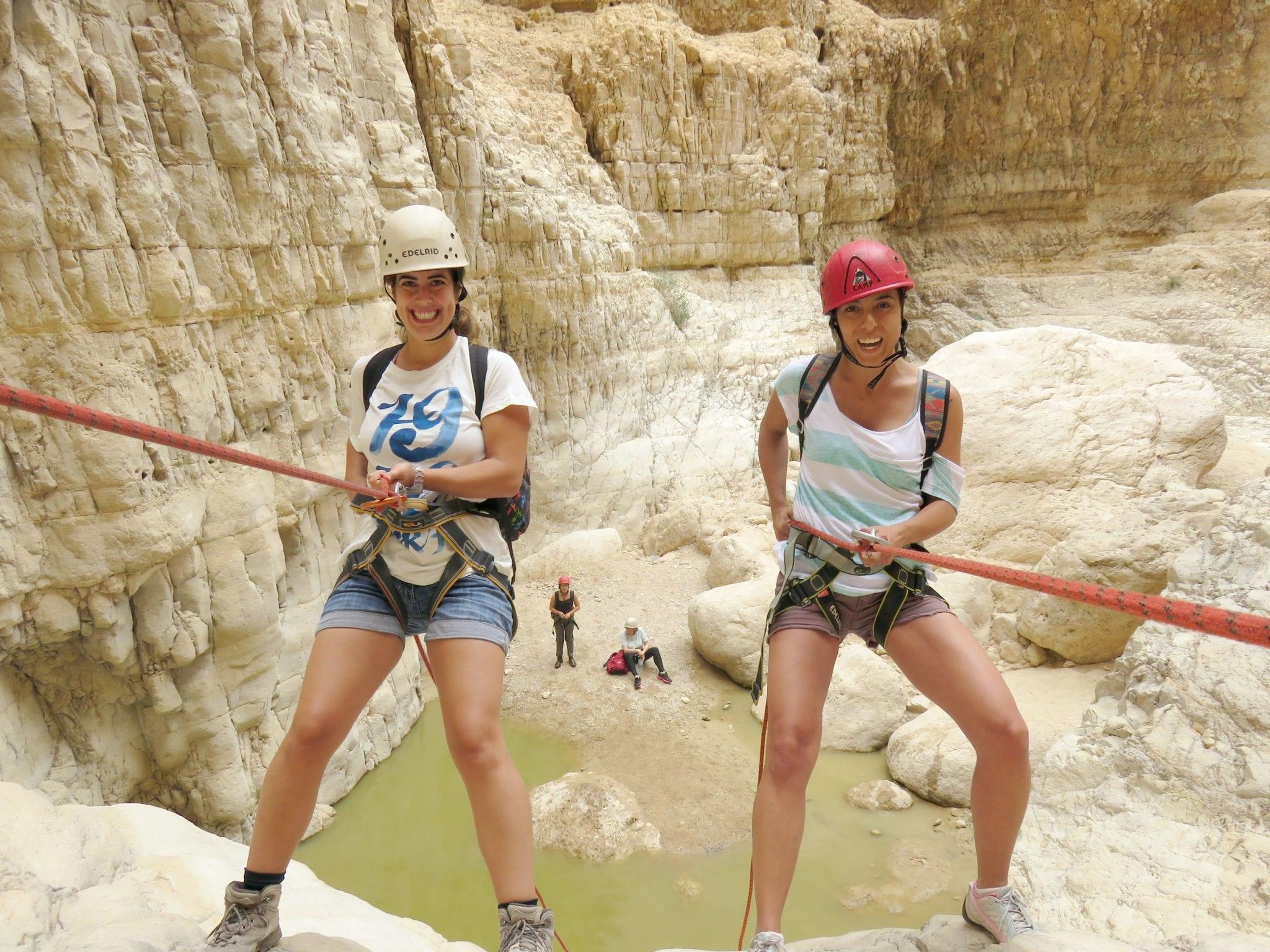 Rahaf - Dead Sea Rappelling trip – Arotzim-Bateva