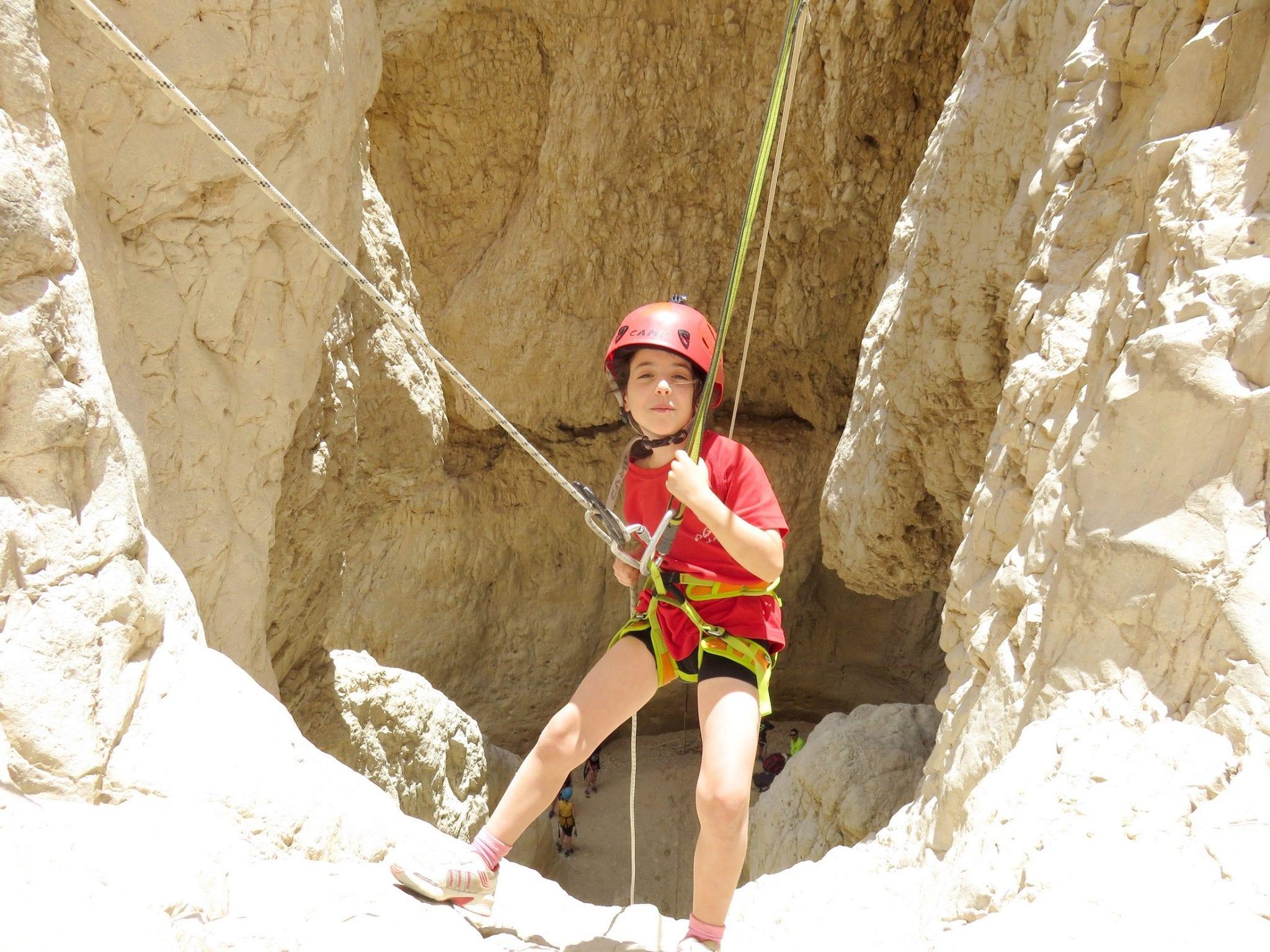 Rahaf - Dead Sea Rappelling trip - banketgarim
