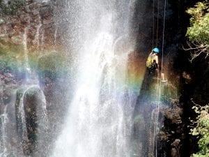 טיול סנפלינג נחל ג'ילבון - ערוצים בטבע