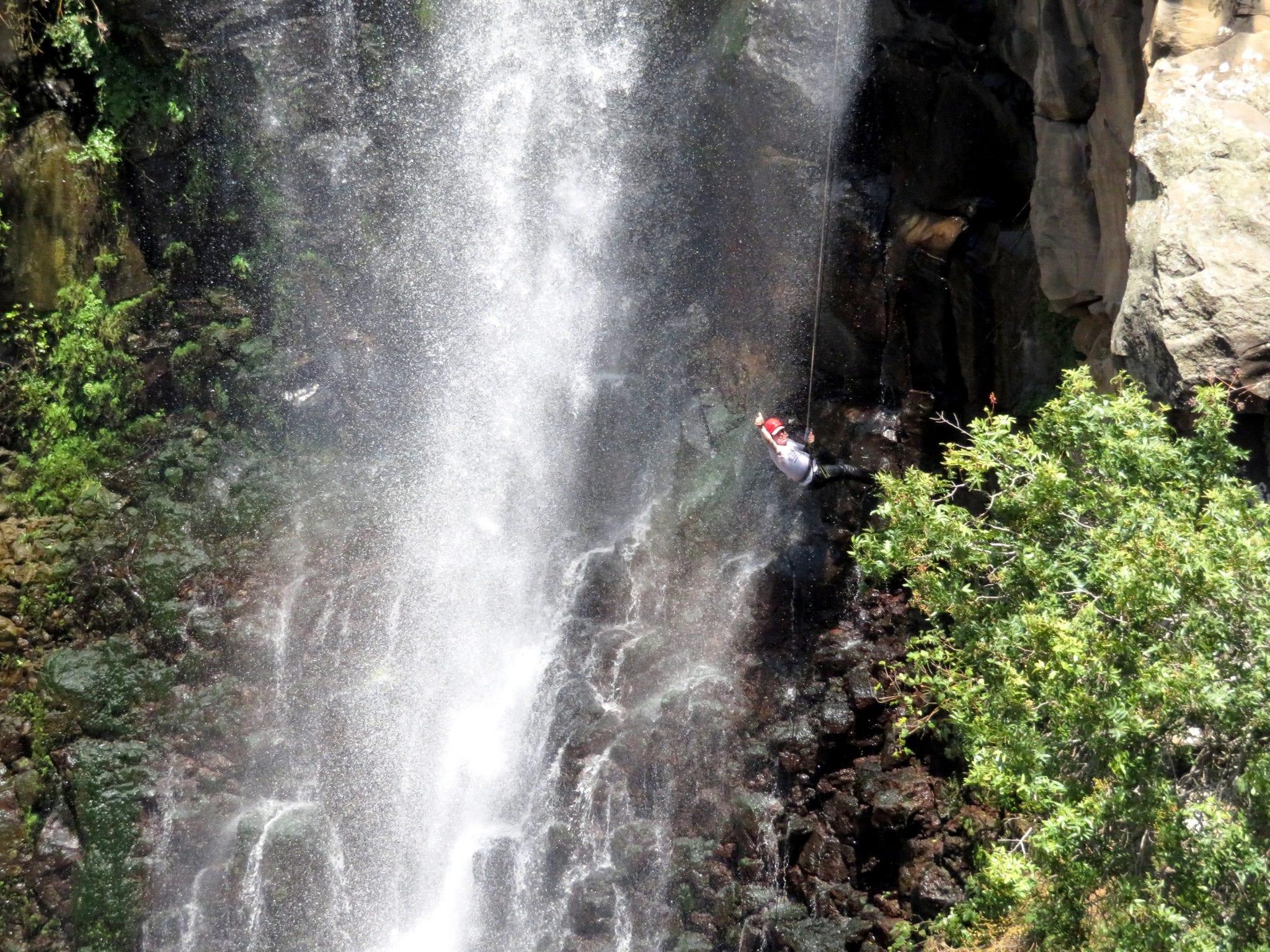 סנפלינג מפלים - ג'ילבון - ערוצים בטבע