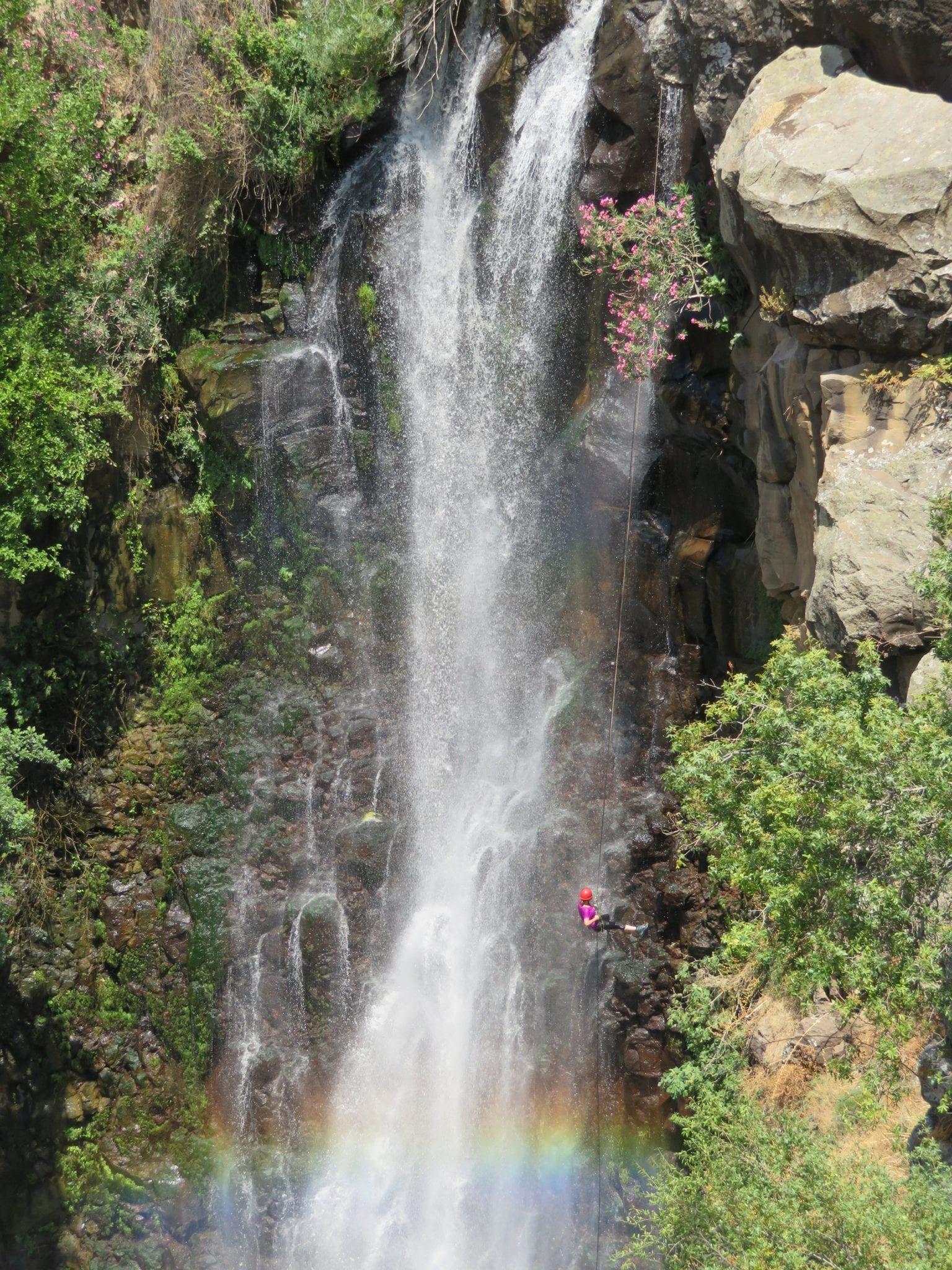 סנפלינג רטוב בצפון - ג'ילבון - ערוצים בטבע
